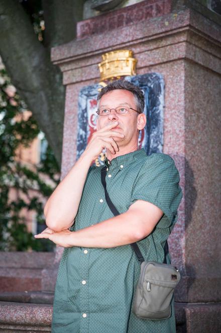 Rüdiger Hoffmann mit Krone